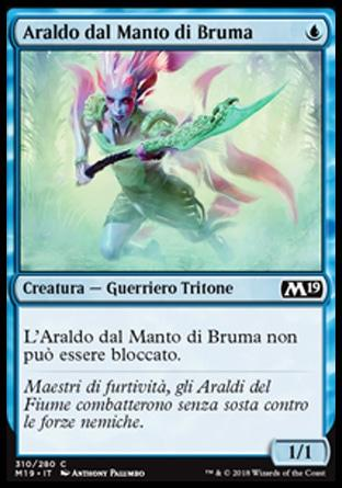 Araldo dal Manto di Bruma  M19 310-Wizard of the Coast- nuvolosofumetti.