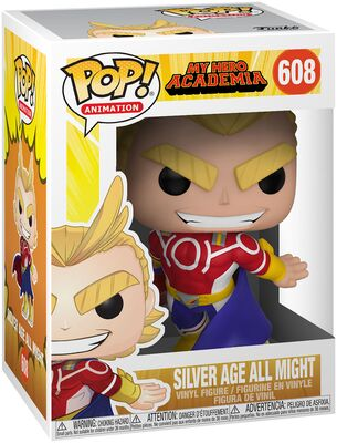 Pop! MY HERO ACADEMIA Silver Age all might # 608