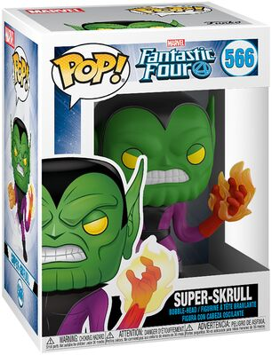Fantastic Four Super Skrull POP 566