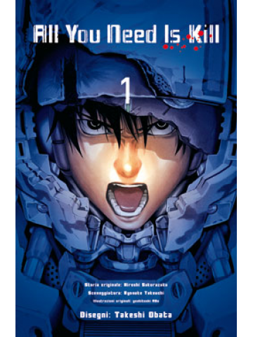 ALL YOU NEED IS KILL COMPLETE EDITION ristampa, PANINI COMICS, nuvolosofumetti,