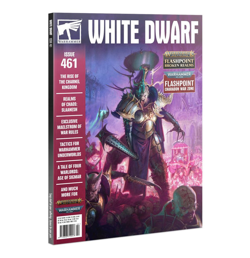 White Dwarf 461, GAMES WORKSHOP, nuvolosofumetti,