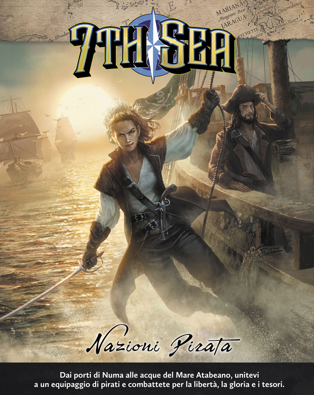 7th Sea Nazioni Pirata-STRATELIBRI- nuvolosofumetti.