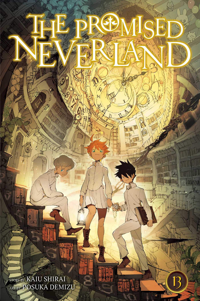 The promised neverland 13, JPOP, nuvolosofumetti,