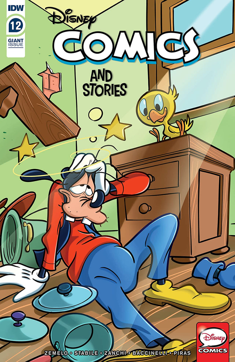 Disney Comics And Stories 12, IDW PUBLISHING, nuvolosofumetti,