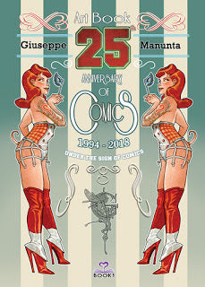 Giuseppe Manunta 25th Anniversary of Comics Ed. Limitata
