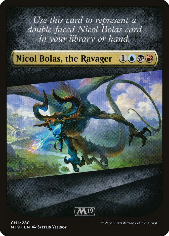 Nicol Bolas, il Devastatore CH1  M19 315-Wizard of the Coast- nuvolosofumetti.