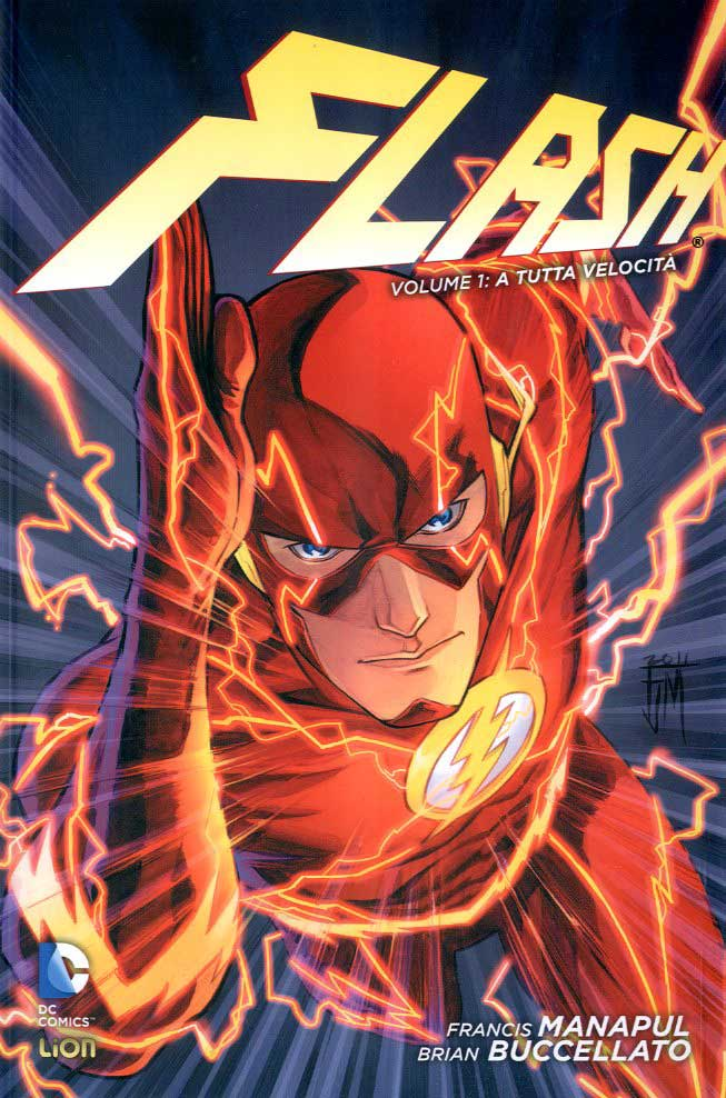 Flash NEW 52  library 1-LION- nuvolosofumetti.