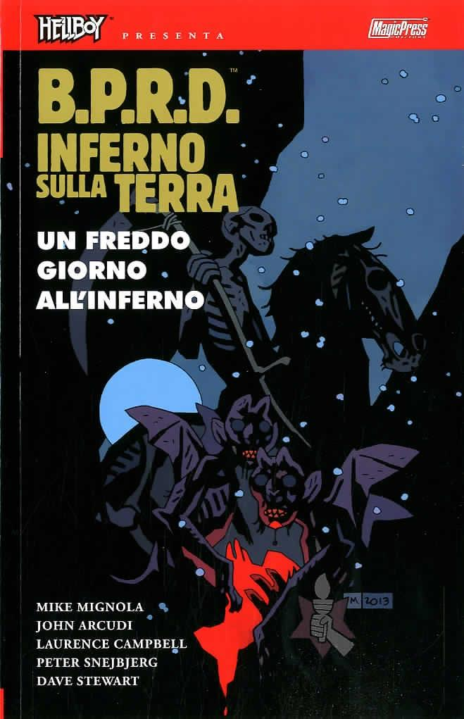 HELLBOY PRESENTA B.P.R.D. INFERNO SULLA TERRA 14-MAGIC PRESS- nuvolosofumetti.