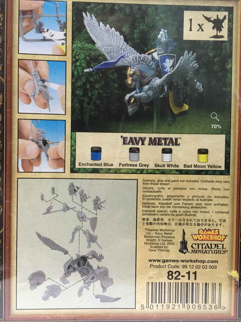 CAVALIERIE SU PEGASO-Games Workshop- nuvolosofumetti.