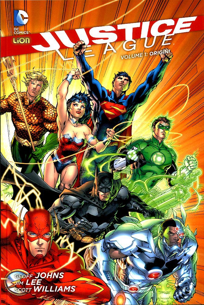 JUSTICE LEAGUE volume ORIGINI 1-LION- nuvolosofumetti.