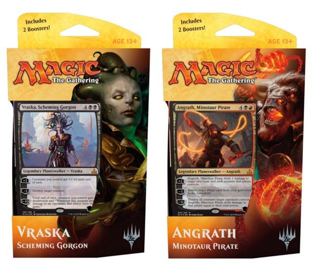 Magic Rivali di Ixalan mazzi planeswalker italiano-wizard of the coast- nuvolosofumetti.