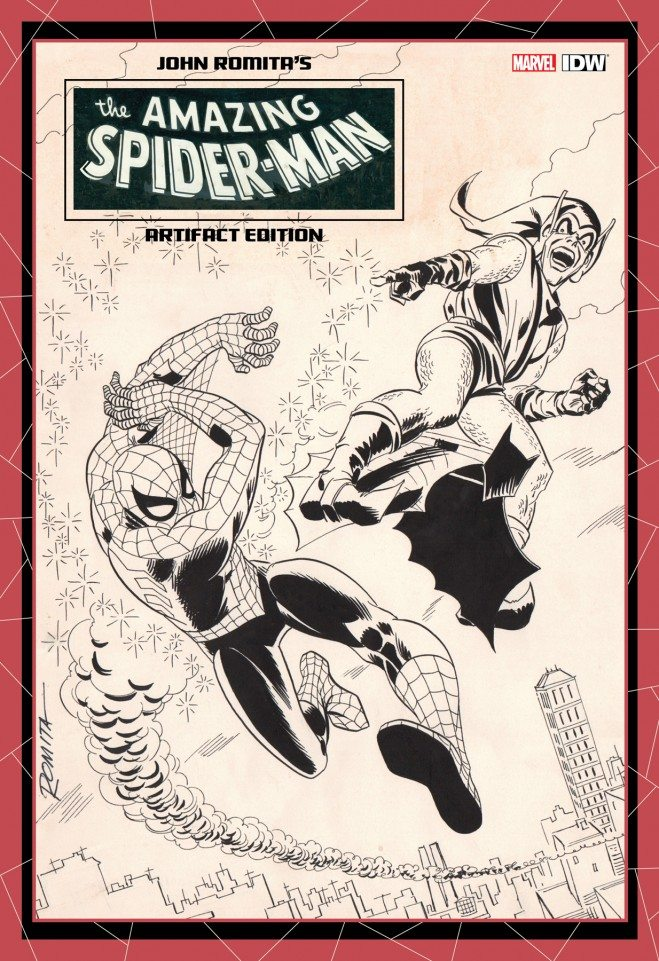 JOHN ROMITA AMAZING SPIDER MAN ARTIFACT ED HC-IDW PUBLISHING- nuvolosofumetti.