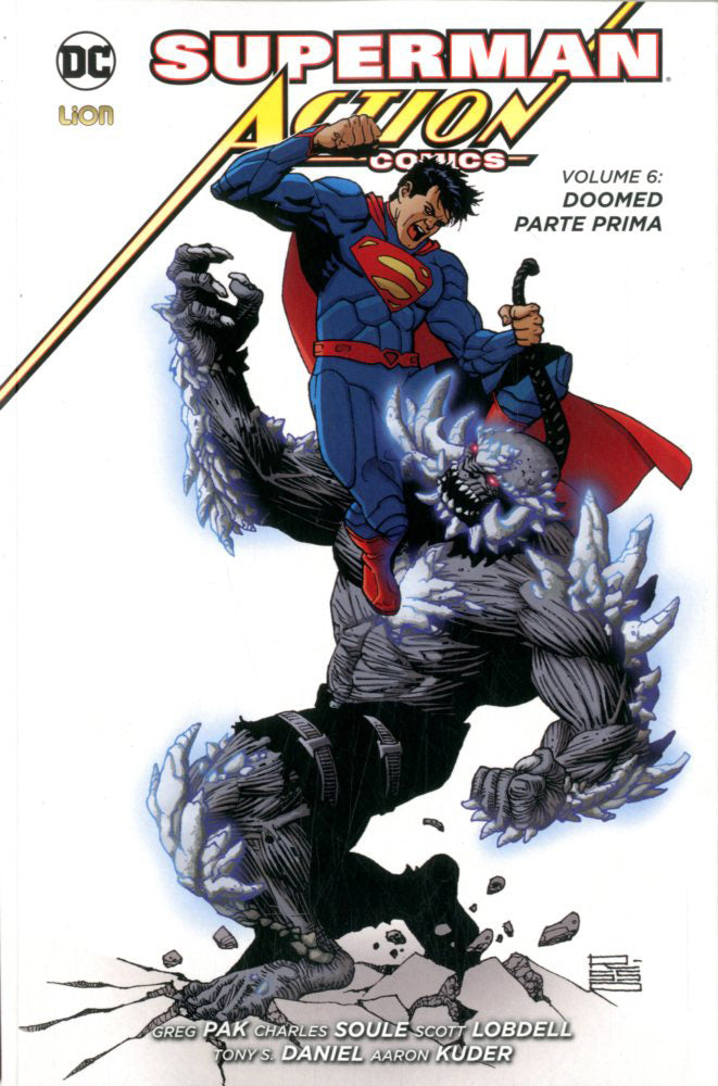 ACTION COMICS  NEW 52 LIBRARY 6-LION-nuvolosofumetti