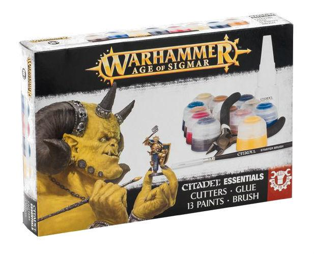 Age of Sigmar citadels PAINTS + TOOLS-GAMES WORKSHOP- nuvolosofumetti.