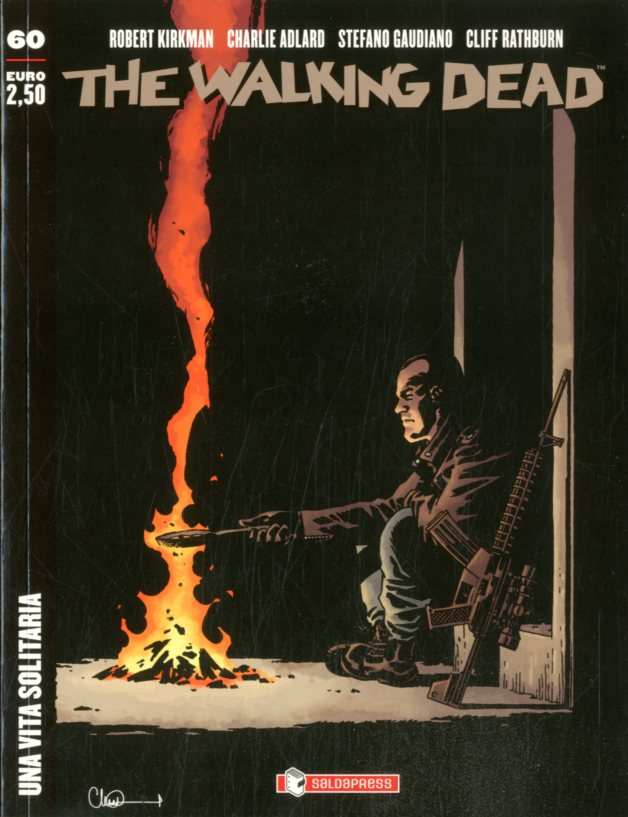 The Walking Dead edicola 60-SALDAPRESS- nuvolosofumetti.