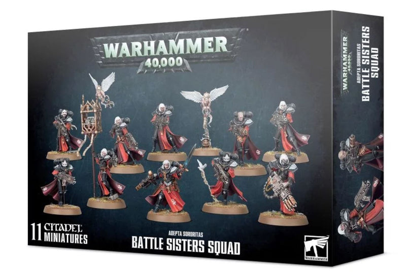 Adepta Sororitas - Battle Sisters Squad, GAMES WORKSHOP, nuvolosofumetti,