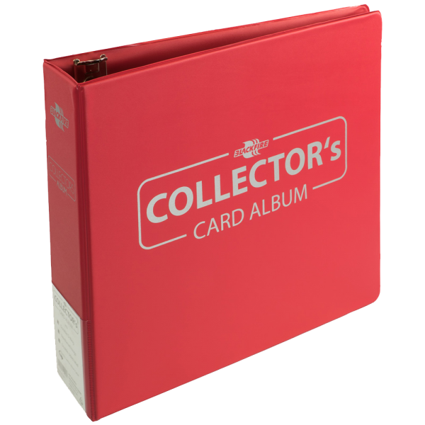 Collector's Card Album Red