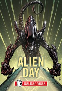 Alien Day pack-SALDAPRESS- nuvolosofumetti.