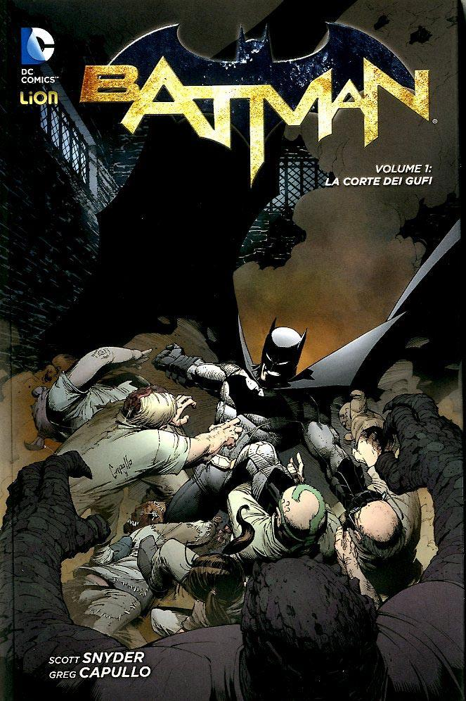 BATMAN NEW 52 LIBRARY 1-LION-nuvolosofumetti