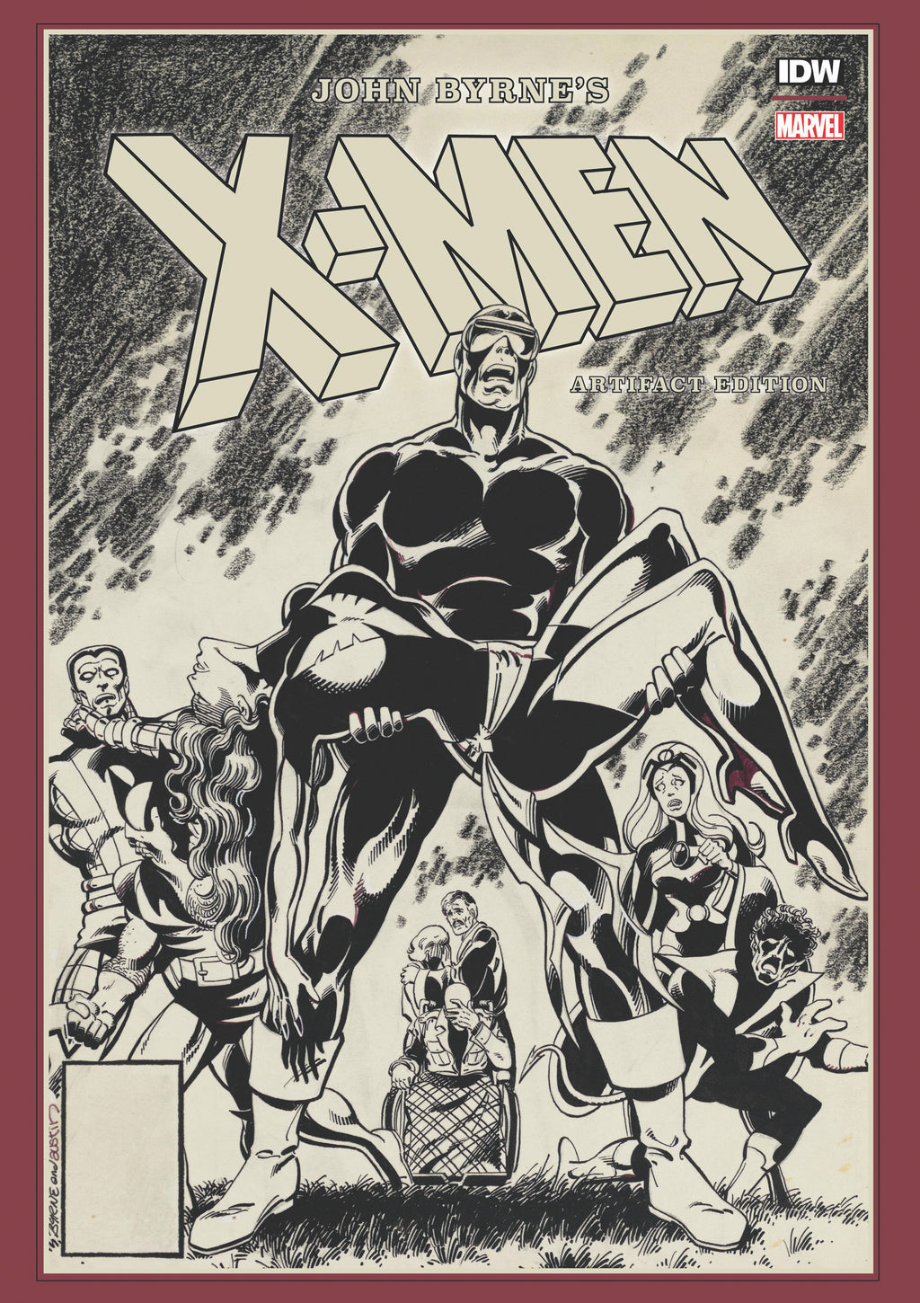 X-Men artifact edition di John Byrne's-IDW PUBLISHING- nuvolosofumetti.