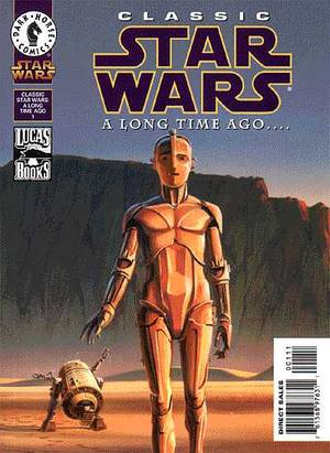 CLASSIC STAR WARS A LONG TIME AGO 1-DARK HORSE- nuvolosofumetti.