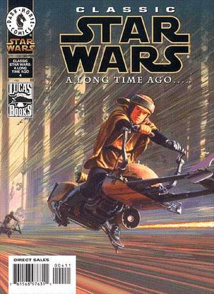 CLASSIC STAR WARS A LONG TIME AGO 4-DARK HORSE- nuvolosofumetti.