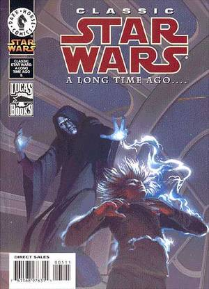 CLASSIC STAR WARS A LONG TIME AGO 5-DARK HORSE- nuvolosofumetti.