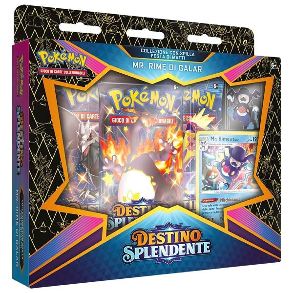 Pokemon Destino splendente MR Rime di Galar, wizard of the coast, nuvolosofumetti,