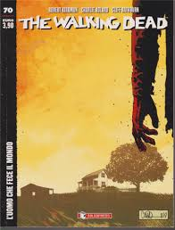 The Walking Dead edicola 70, SALDAPRESS, nuvolosofumetti,