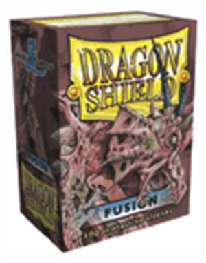 Dragon Shield 100 Standard card sleeves FUSION-Dragon Shield- nuvolosofumetti.