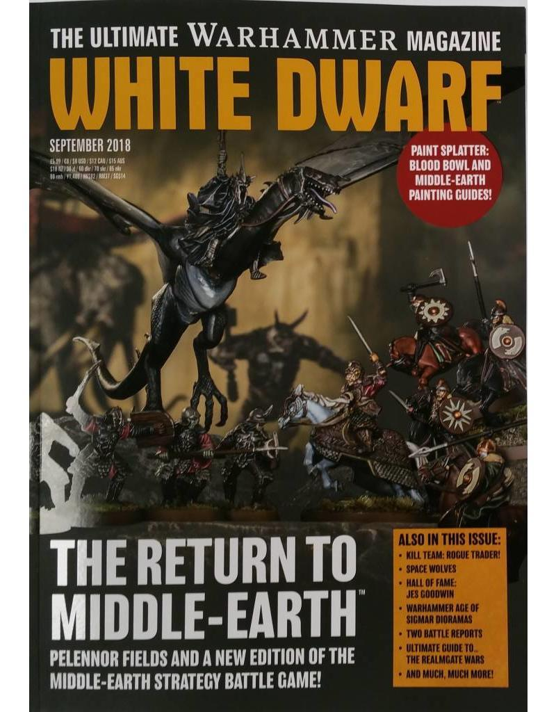 White Dwarf-GAMES WORKSHOP- nuvolosofumetti.