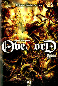 OVERLORD LIGHT NOVEL 4, JPOP, nuvolosofumetti,