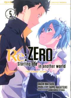 Re:zero Truth of zero 5-Jpop- nuvolosofumetti.