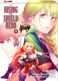 Rising of the shield hero 11-Jpop- nuvolosofumetti.