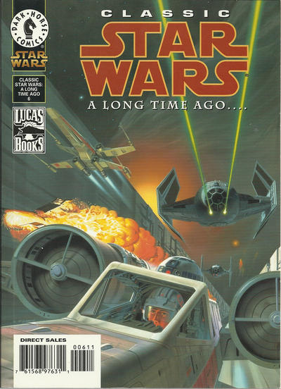 CLASSIC STAR WARS A LONG TIME AGO 6-DARK HORSE- nuvolosofumetti.