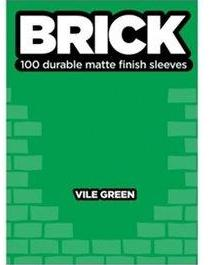 Buste per Cards Brick 100 Matte finish cleeves - Electric vile green-Legion- nuvolosofumetti.