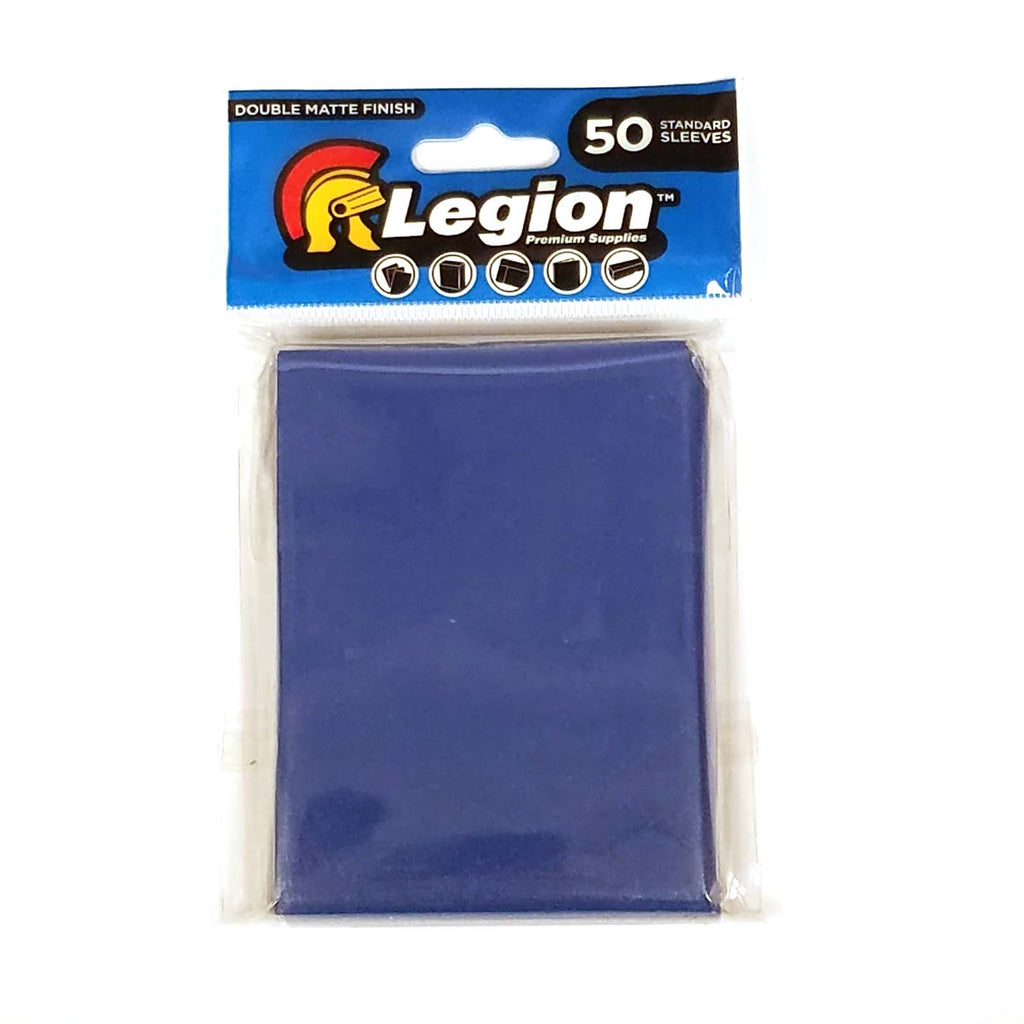Legion Standard sleeves BLUE DOUBLE MATT-Legion- nuvolosofumetti.