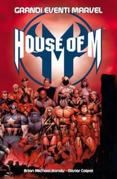 HOUSE OF M-Panini Comics- nuvolosofumetti.