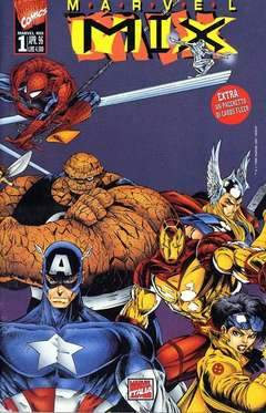 MARVEL MIX 1-Panini Comics- nuvolosofumetti.