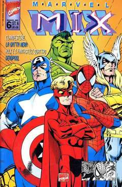 MARVEL MIX 6-Panini Comics- nuvolosofumetti.
