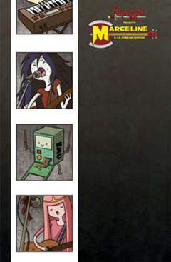 ADVENTURE TIME MARCELINE & LE SCREAM QUEENS 1-Panini Comics- nuvolosofumetti.