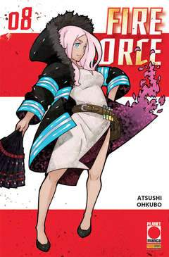 Fire Force 8-PANINI COMICS- nuvolosofumetti.