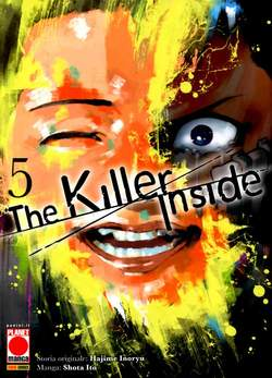 THE KILLER INSIDE 5, PANINI COMICS, nuvolosofumetti,