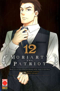MORIARTY THE PATRIOT 12 12, PANINI COMICS, nuvolosofumetti,