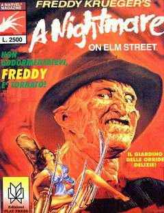 A NIGHTMARE ON ELM STREET-Play Press- nuvolosofumetti.