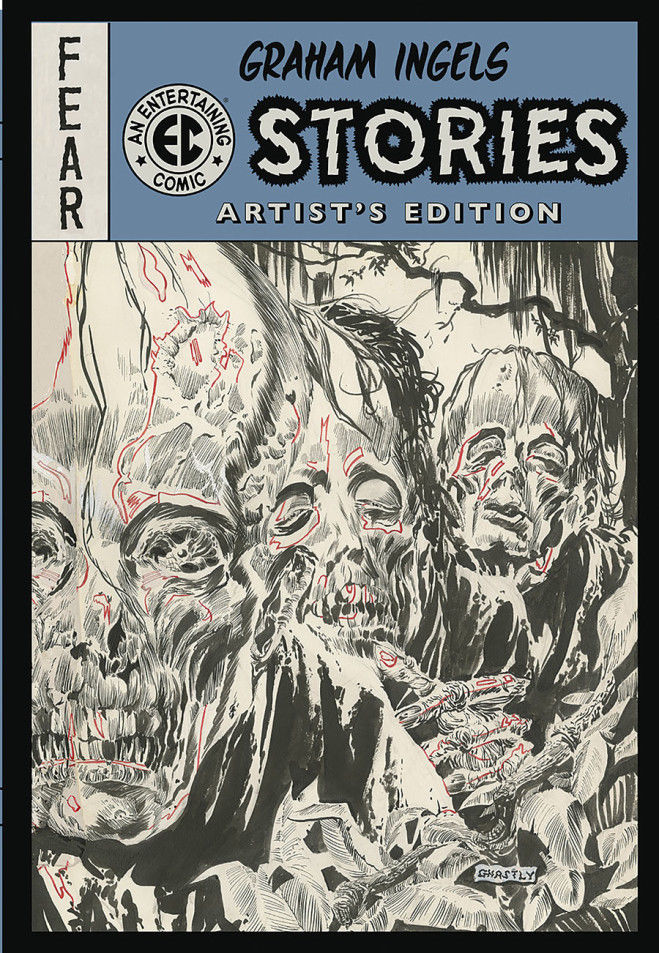 GRAHAM INGEL EC STORIES ARTIST ED HC-IDW PUBLISHING- nuvolosofumetti.