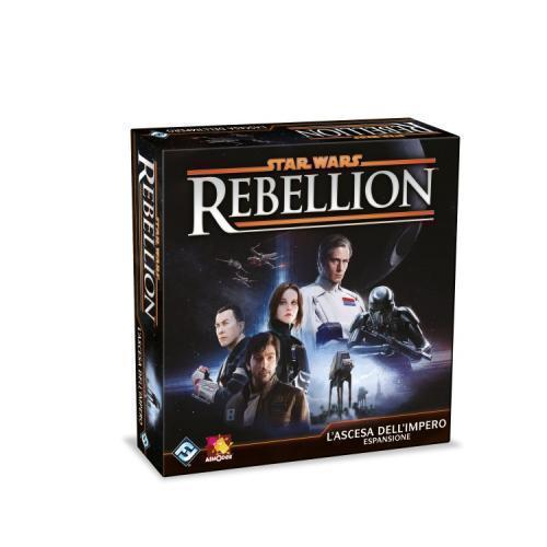 Star Wars Rebellion  - l'ascesa dell'Impero - espansione-ASTERION PRESS- nuvolosofumetti.