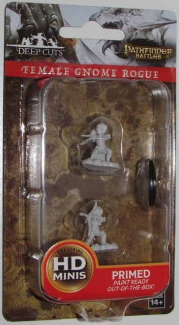 Pathfinder Battles -  Female gnome rogue-WIZKIDS/NECA- nuvolosofumetti.