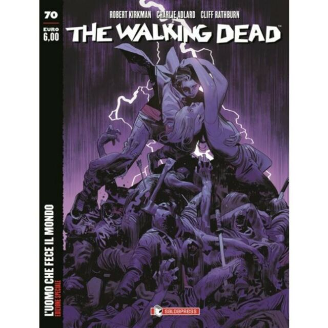 The Walking Dead edicola 70 Variant in Aeternum, SALDAPRESS, nuvolosofumetti,