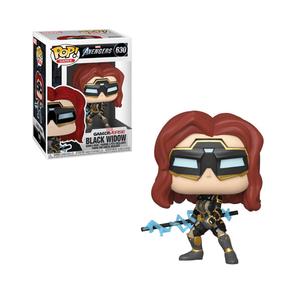 Avengers Gamerverse POP 630 Black Widow, funko, nuvolosofumetti,